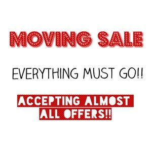 All offers will be accepted/negotiated!!!
